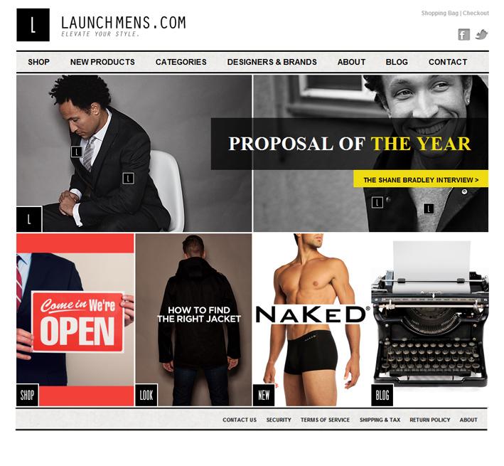 Website Capture: Launchmens