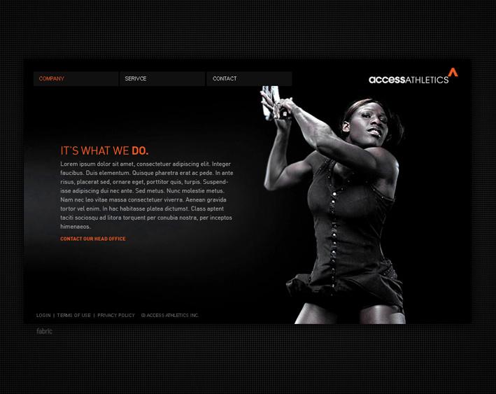 Website Capture: Access Athletics