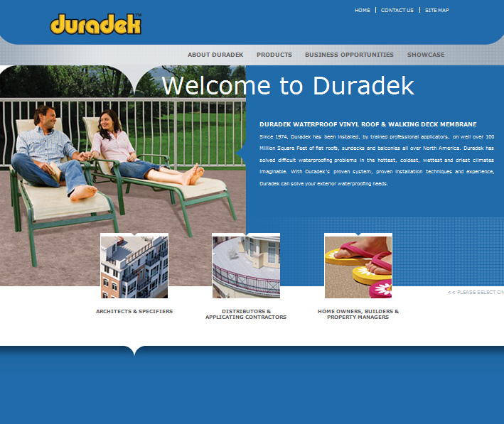 Website Capture: Duradek