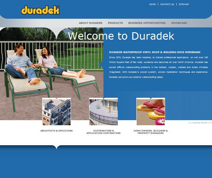 Website Capture: Duradek