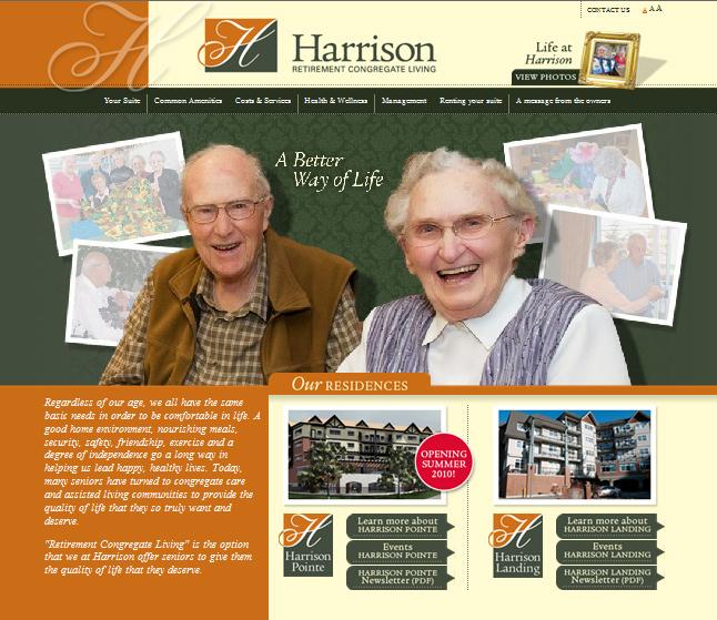 Website Capture: Harrison Landing