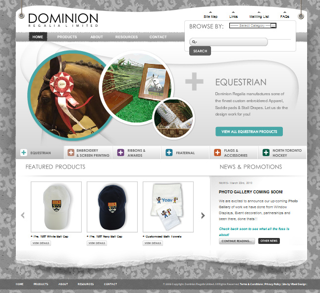 Website Capture: Dominion Regalia