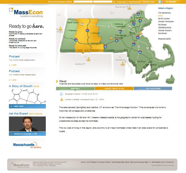Website Capture: Massecon - Ready Mass